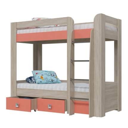 Двухъярусная кровать Гранд-Кволити Сити 4-2002