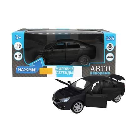 Машинка металлическая Автопанорама, LADA VESTA седан, масштаб 1:24, JB1251150