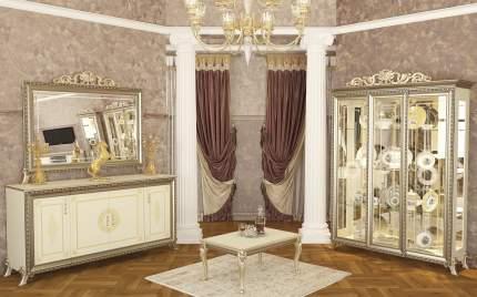 Стол журнальный Мэри-Мебель Версаль ГВ-07 слоновая кость, 90х60х43 см.
