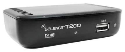 DVB-T2 приставка Selenga T20D Black