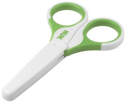 Детские ножницы Nuk зеленый