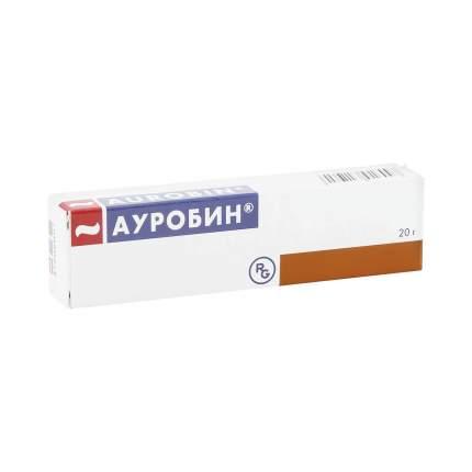 Ауробин мазь для ректального и наружного применения 20 г