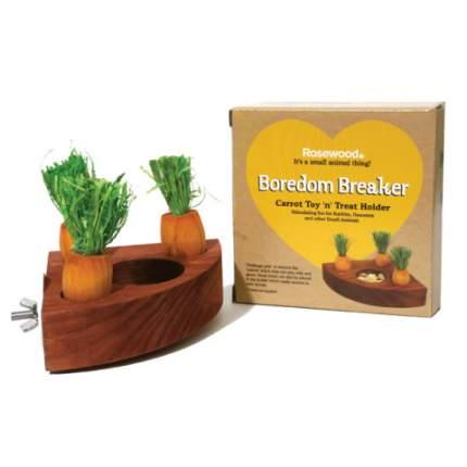 Игрушка-кормушка для грызунов Rosewood с морковками