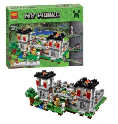 Конструктор пластиковый BELA 10472 Большая крепость 4в1