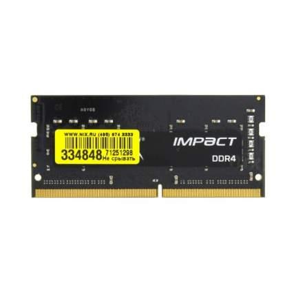 Оперативная память Kingston HyperX Impact HX424S14IBK2/8