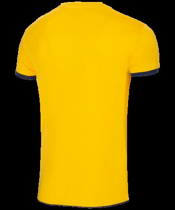 Футболка Jogel JVT-1030-049, желтый/темно-синий, L INT