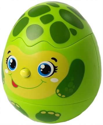 Интерактивное животное Азбукварик Яйцо-сюрприз Черепашка 28215-2