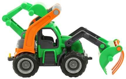 ГрипТрак Wader трактор-погрузчик с ковшом