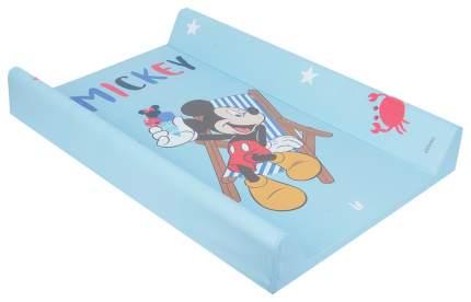 Пеленальная доска Keeeper Mickey C меркой Голубой
