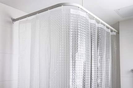 Штора для ванной комнаты Tatkraft Chrystal 3D