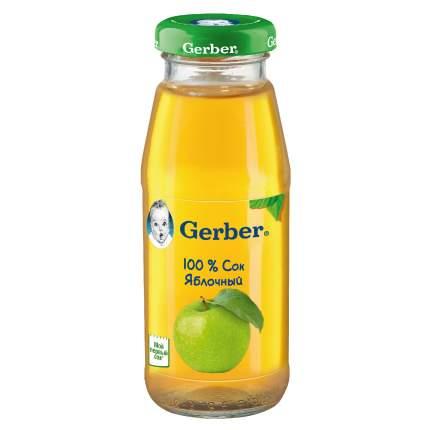 Сок Gerber яблочный, осветленный (первая ступень), 12 штук по 175мл