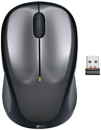 Мышь беспроводная Logitech M235 Gray (910-002201)