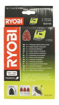 Лист для дельташлифмашины Ryobi SCS10A Corner Sand Sheet x10 EMEA