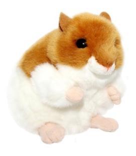Мягкая игрушка Gulliver Хомяк 13 см