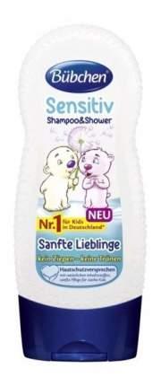 """Шампунь для мытья волос и тела bubchen для детей """"ласковый и нежный"""", 230 мл"""