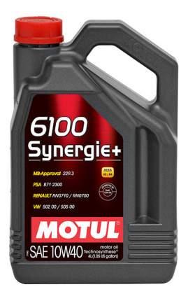 Масло моторное Motul 6100 Synergie + 10w-40 4l