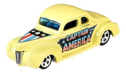 Машинка Hot Wheels Капитан Америка DJK75 DJK79