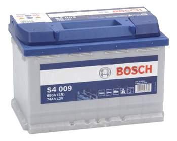 Аккумулятор автомобильный автомобильный Bosch S4 Silver 0 092 S40 090 74 Ач