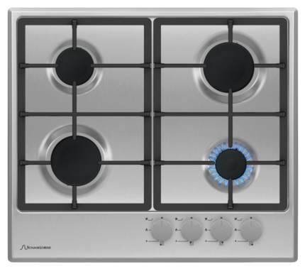 Встраиваемая варочная панель газовая Schaub Lorenz SLK GE6210 Silver