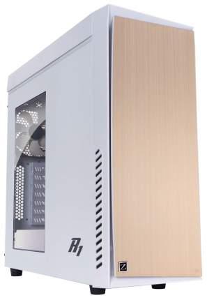 Компьютерный корпус Zalman R1 без БП white/gold