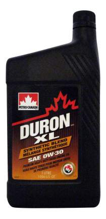 Моторное масло Petro-canada Duron XL Synthetic Blend 0W-30 1л