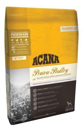 Сухой корм для собак ACANA Classics Prairie Poultry, индейка, курица, овес, 2кг
