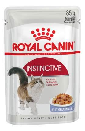 Влажный корм для кошек ROYAL CANIN Instinctive, мясо, 12шт, 85г