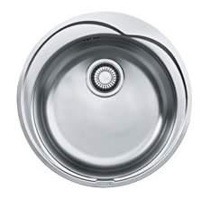 Мойка для кухни из нержавеющей стали Franke Ronda RON 610-41 1010000561 серебристый