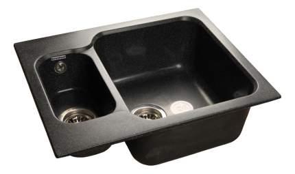 Мойка для кухни из мрамора GranFest Standart GF-S615K черный