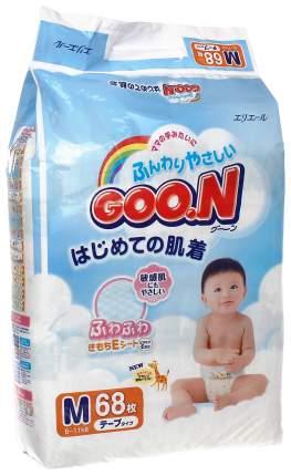 Подгузники Goon М (6-11 кг), 68 шт.