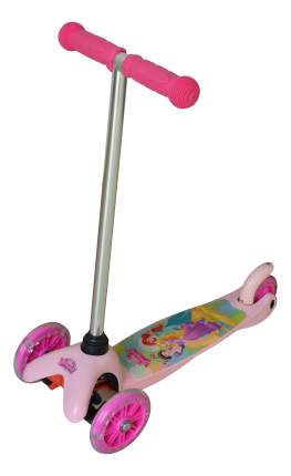 Самокат трехколесный 1 Toy Disney Принцессы Т58416 розовый