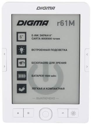 Электронная книга Digma R61M White