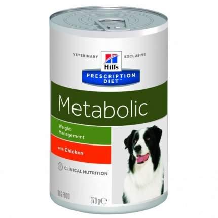 Консервы для собак Hill's Prescription Diet Metabolic Weight Management, 370г