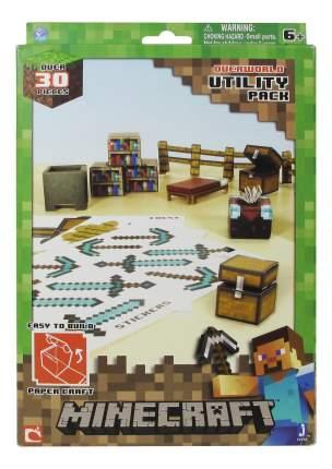 Аппликация из бумаги 1TOY Minecraft. Предметы