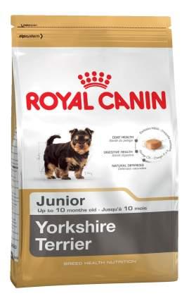 Сухой корм для щенков ROYAL CANIN Yorkshire Terrier Junior, птица, 1.5кг