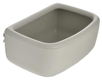 Одинарная миска для кошек и собак Marchioro, пластик, бежевый, 0.7 л