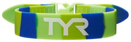 Ремень-фиксатор ног для плавания TYR Rally Training Strap зеленый/синий (308)