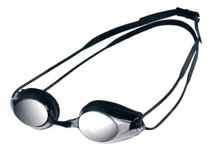 Очки для плавания Arena Tracks Mirror 92370 черные/серые/прозрачные (55)
