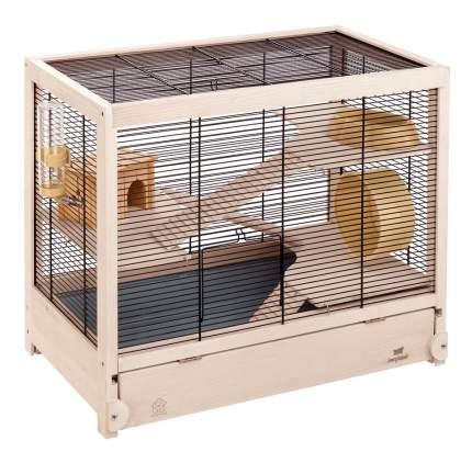 Клетка для хомяков Ferplast 49х34х60см выдвижной лоток для отходов