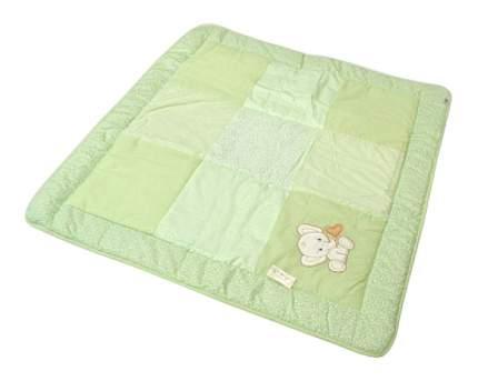 Одеяло детское Bombus Лоскутное зеленое