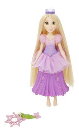 Кукла Disney Princess Рапунцель с тиарой для мыльных пузырей