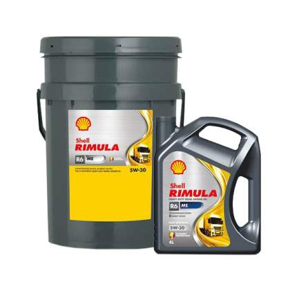 Моторное масло Shell Rimula R6 ME 5w-30 20л