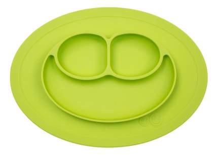 Тарелка детская Ezpz Mini mat лайм