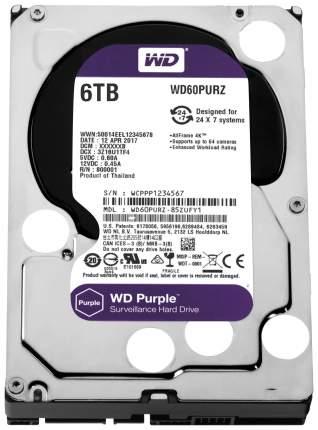 Внутренний жесткий диск Western Digital Purple 6TB (WD60PURZ)