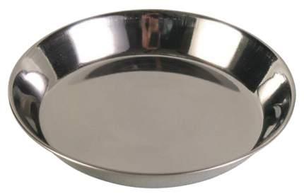Одинарная миска для кошек TRIXIE, сталь, серебристый, 0.3 л