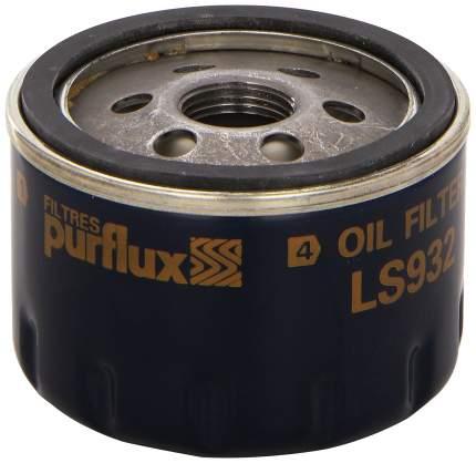 Фильтр масляный двигателя PURFLUX LS932