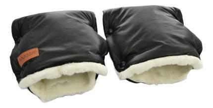 Муфта-рукавички на коляску VUGGA зимняя Black AW18-19