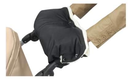 Муфта для рук мамы на детскую коляску Bozz Черный