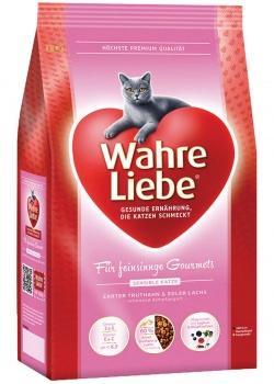 Сухой корм для кошек MERA Wahre Liebe Sensible, при аллергии, индейка, лосось, 10кг
