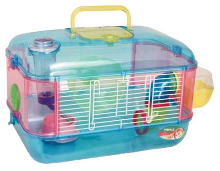 Клетка для крыс, морских свинок, мышей, хомяков Triol 26х26х40см